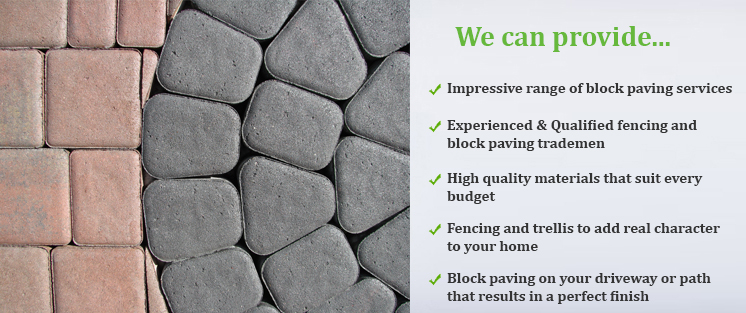 Fencing & Block Paving