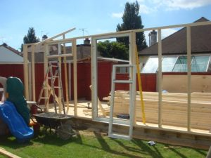 building a summerhouse